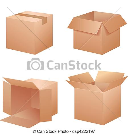 Packing Boxes Clipart - Clipart Kid