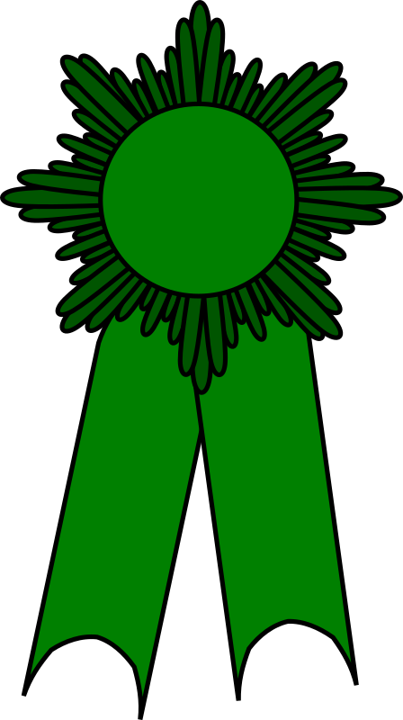 Prize Ribbon Green By Barnheartowl   Prize Ribbon Green