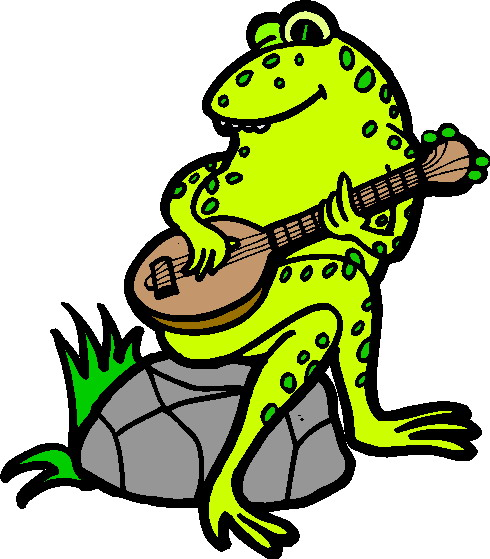 Animal Playing Guitar Clipart - Clipart Kid
