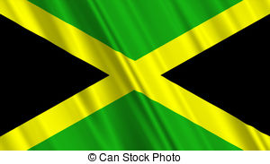 Jamaica Flag Illustrations And Clipart