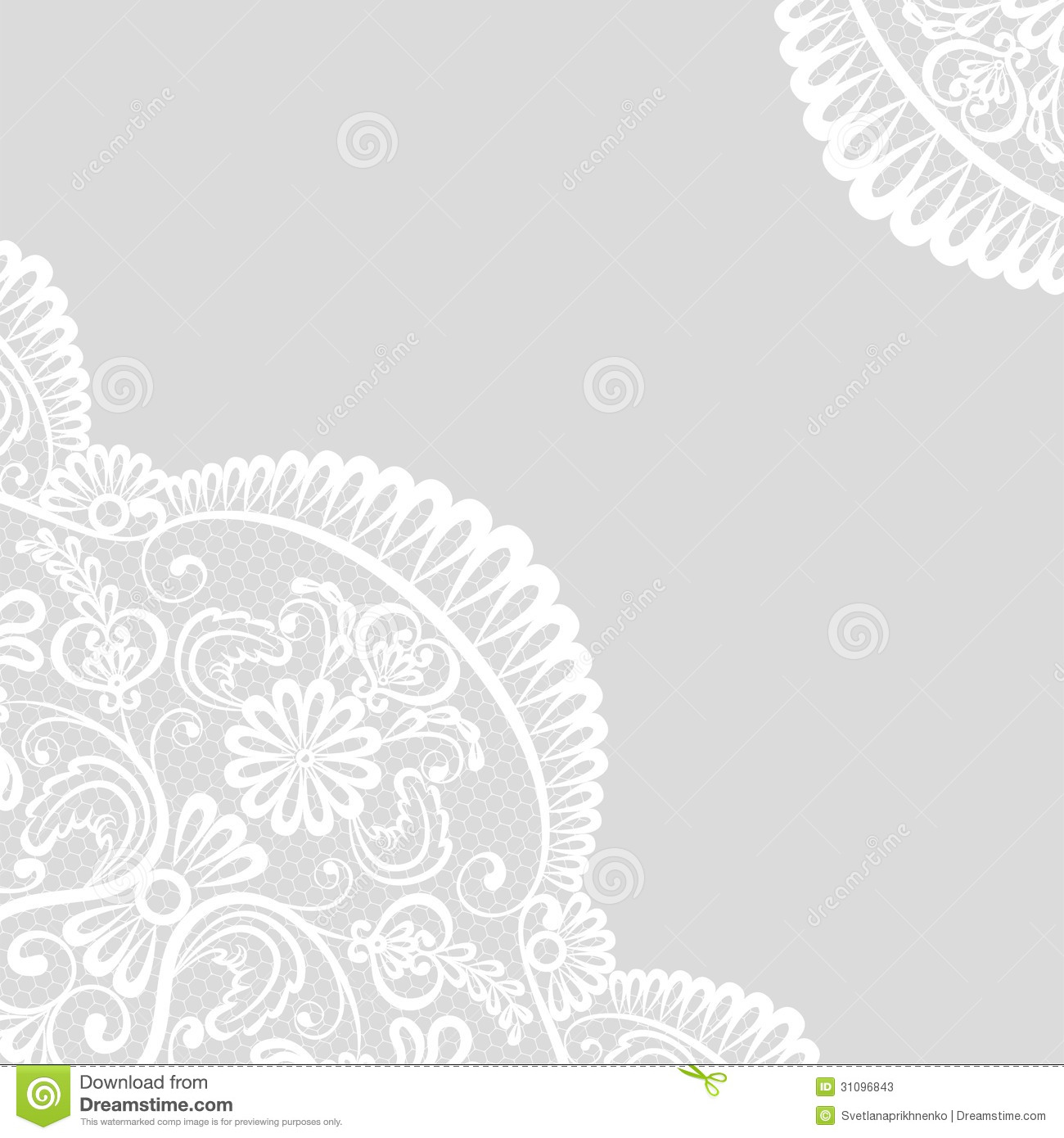 Lace Border Stock Photos   Image  31096843