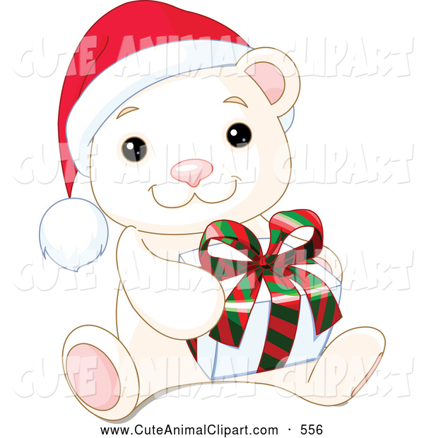 Pics Photos   Christmas Polar Bears Vector Clipart And Illustrations