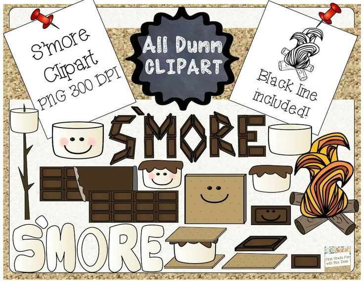 Smores Clipart Black And White S Mores Clip Art 32 Images #QE2MYW ...