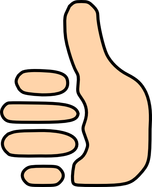 Thumbs Up Sign   Clipart Best