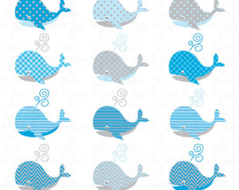 Whimsical Whale Clipart - Clipart Kid