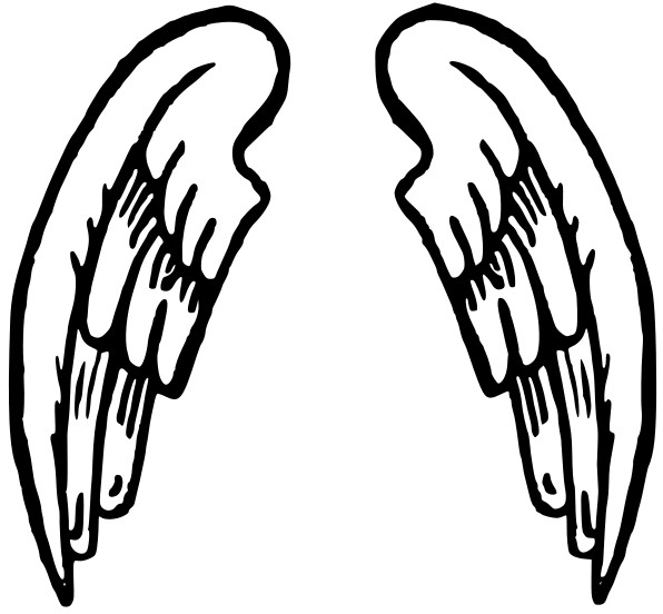 Clip Art Angel Wings Clip Art halo and angel wing clipart kid wings clip art