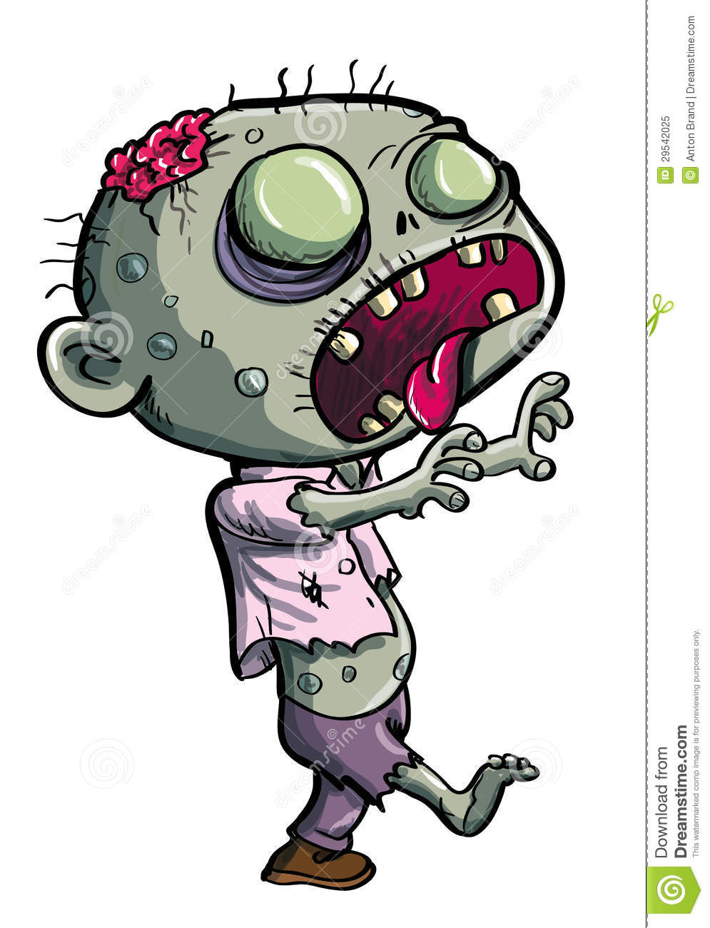 free zombie clipart images - photo #34