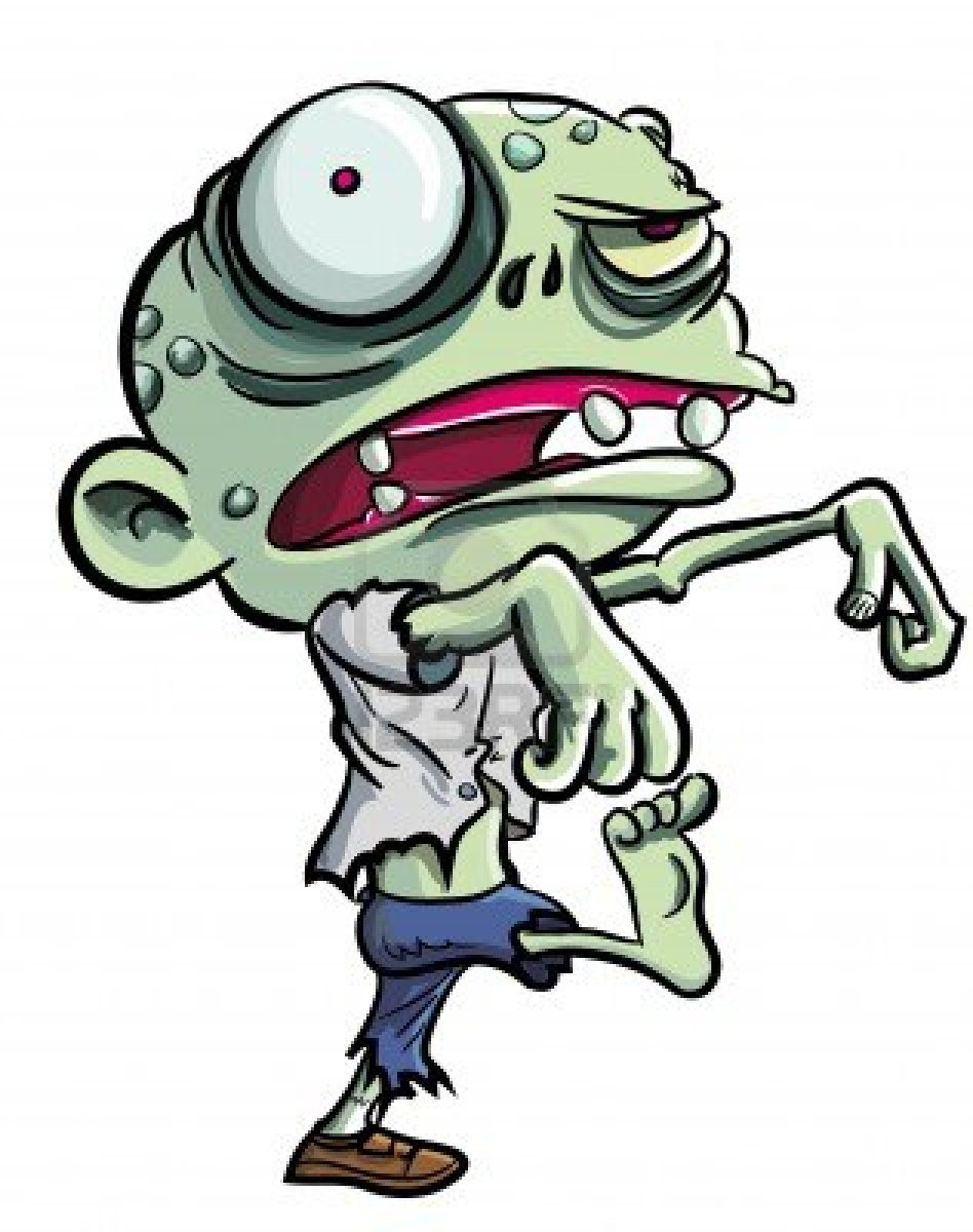 zombies clipart - photo #43