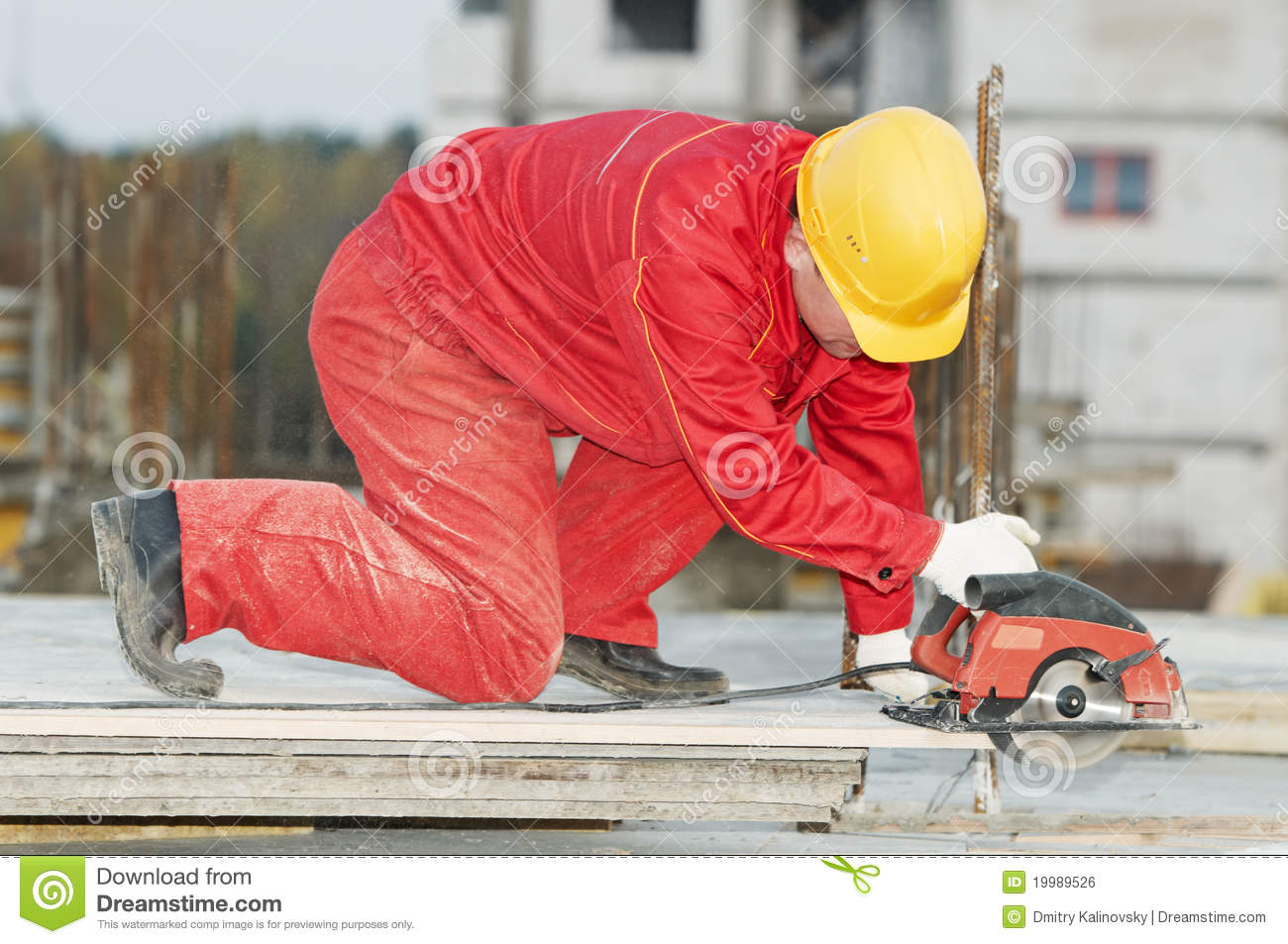 Cutting Construction Wood Board Royalty Free Stock Image   Image