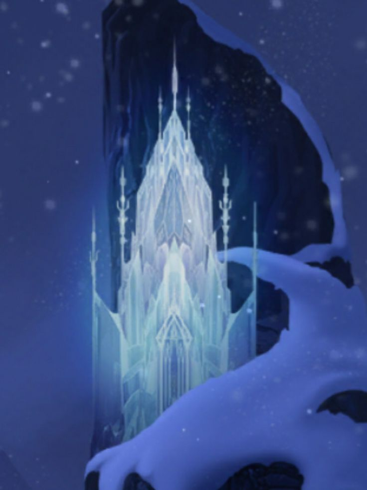 Day 7  Favorite Castle Elsa S Ice Castle