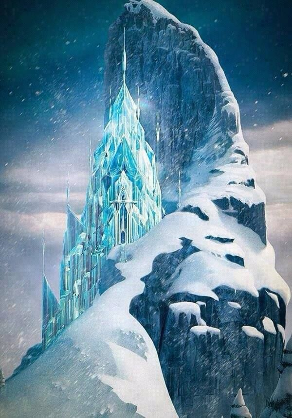 Disney Frozen Ice Castle  Disneyfrozen   Frozen Clipart   Pinterest
