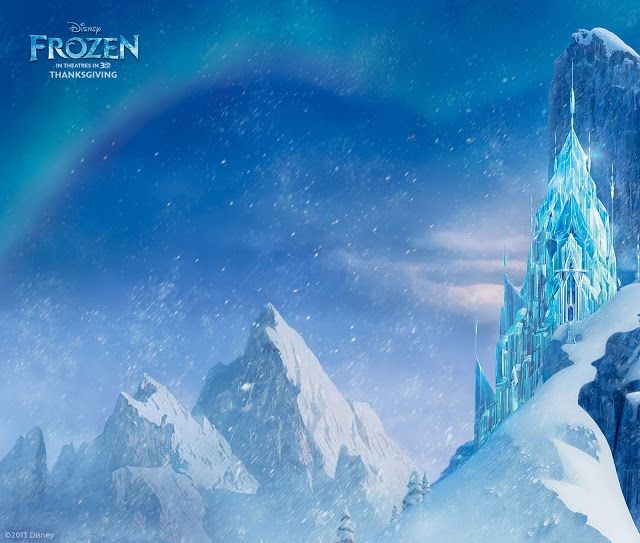 Elsa S Ice Castle From Disney S Frozen   Disney   Pinterest