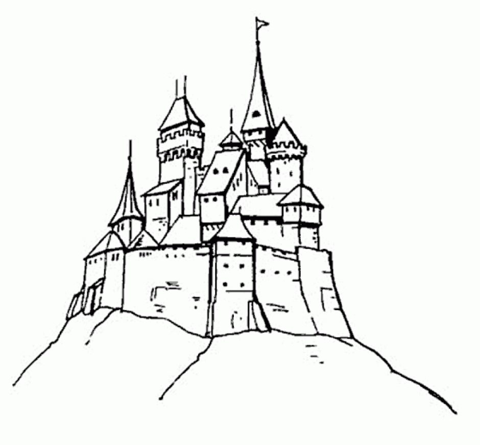 Frozen Castle Coloring Pages Coloring Filminspector Com