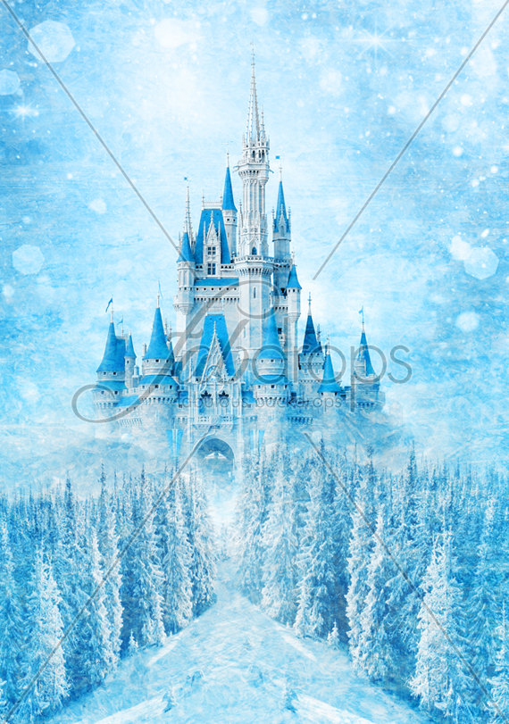 Frozen Party Backdrop   Party Invitations Ideas