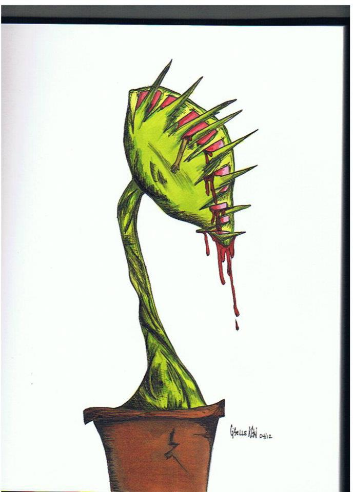Venus Fly Trap By Xgisellex On Deviantart