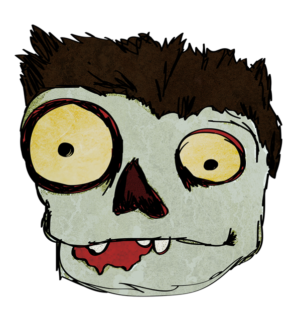 Cute Zombie Clipart - Clipart Suggest