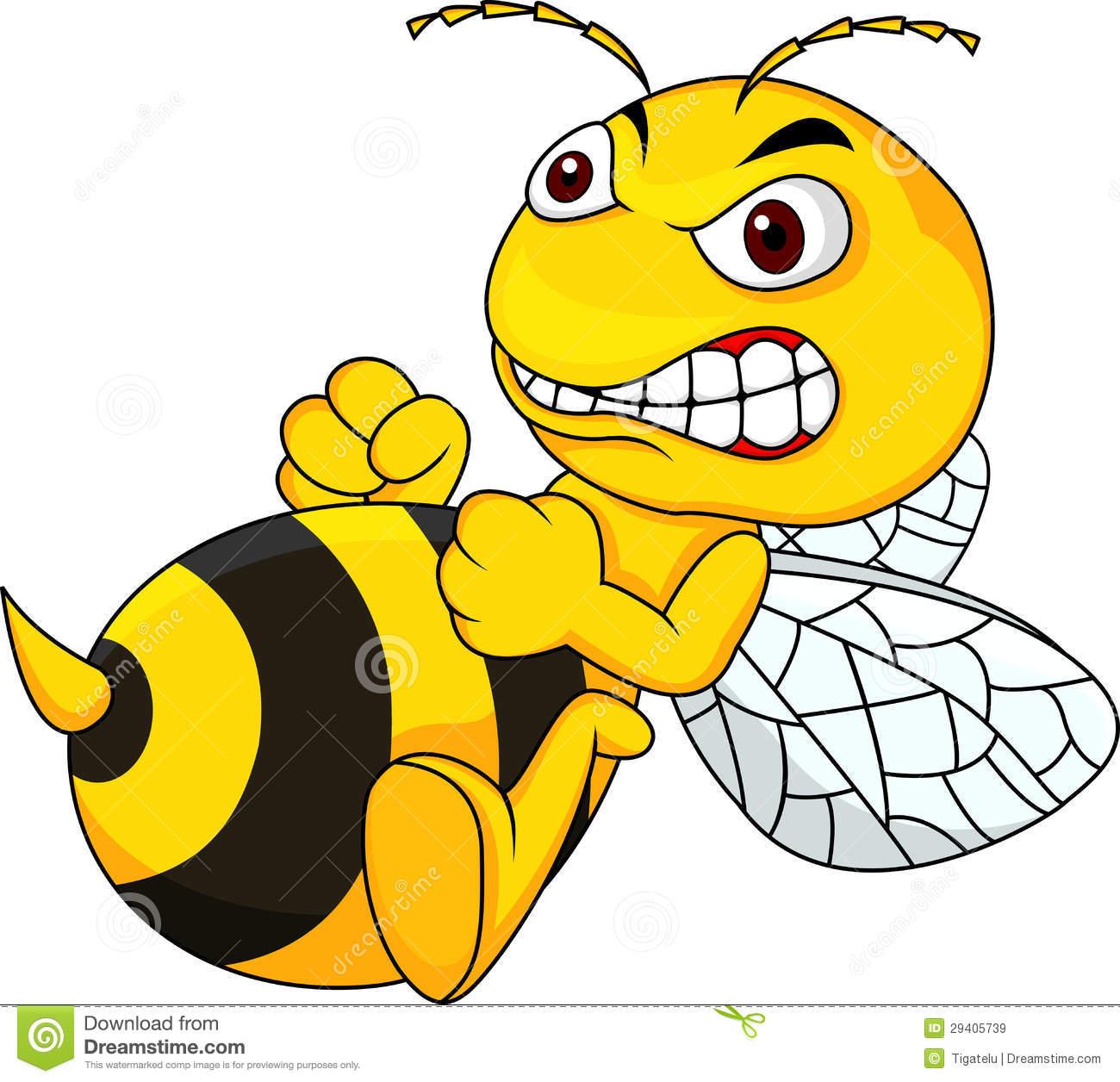 angry bumblebee cartoon - photo #1
