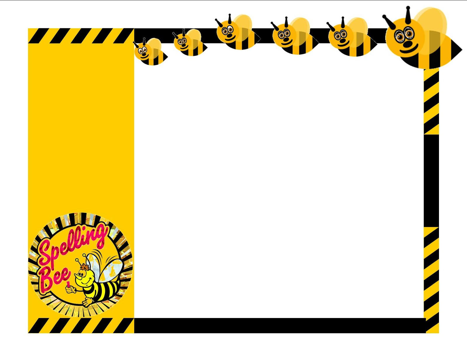 Spelling Bee Borders Clipart - Clipart Kid