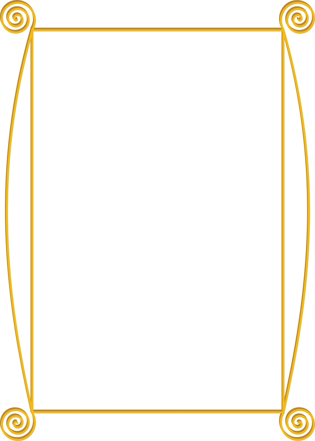 Fancy Gold Border Clipart - Clipart Suggest Fancy Color Border