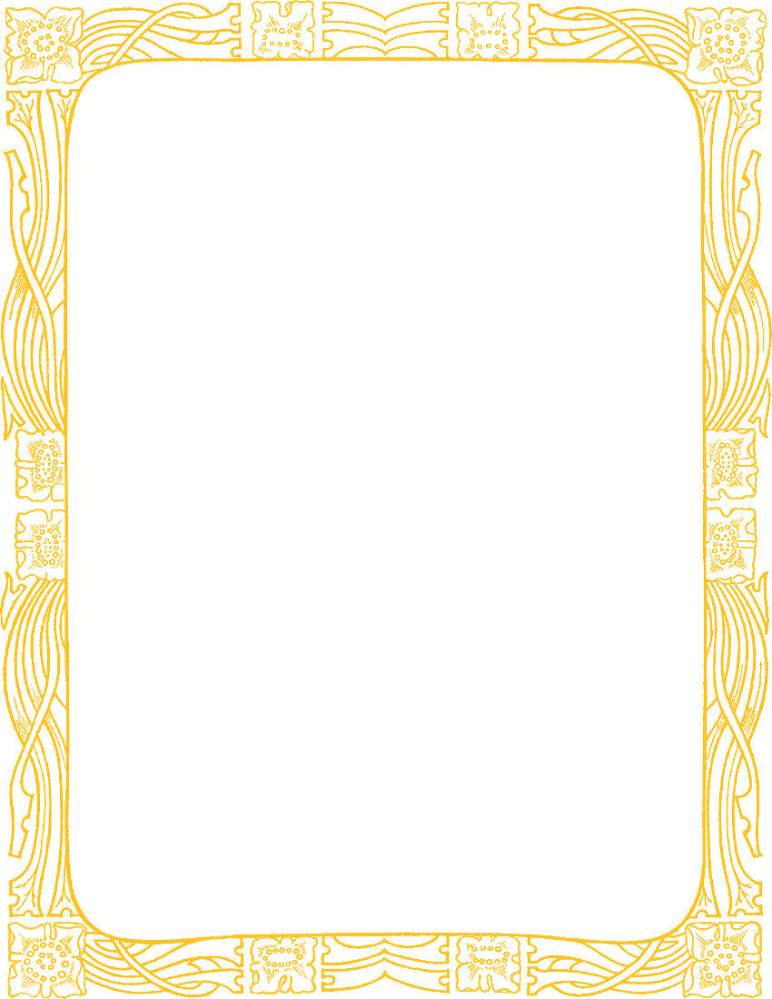 fancy gold border clipart clipart suggest
