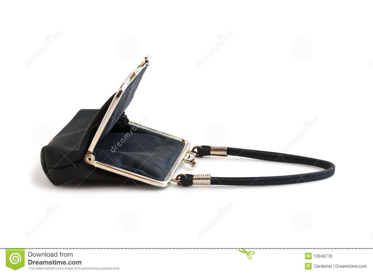 Open Purse Classically Royalty Free Stock Photos   Image  12949778