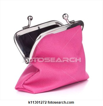 Stock Photo   Empty Open Purse  Fotosearch   Search Stock Photos