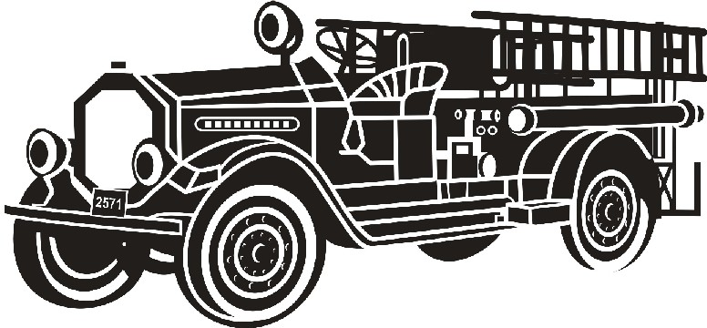 Old Fire Truck Clipart - Clipart Kid