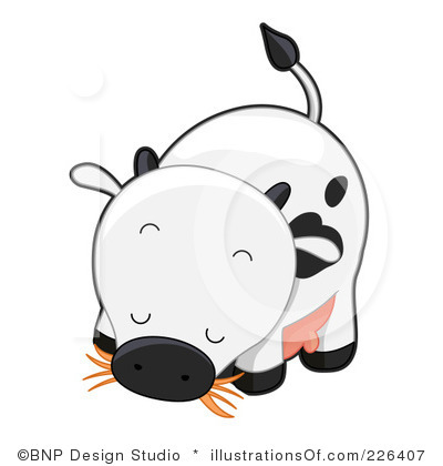Baby Cow Clipart Royalty Free Cow Clipart Illustration 226407 Jpg