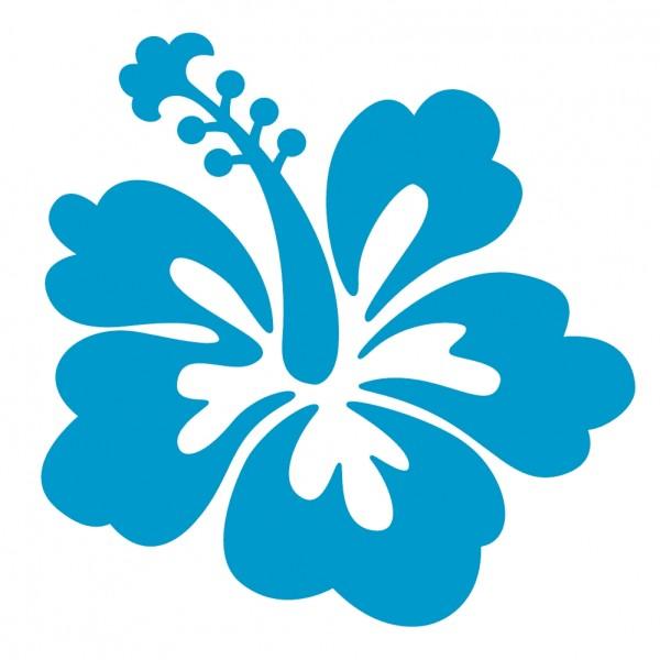 Hibiscus Flower Clipart - Clipart Kid