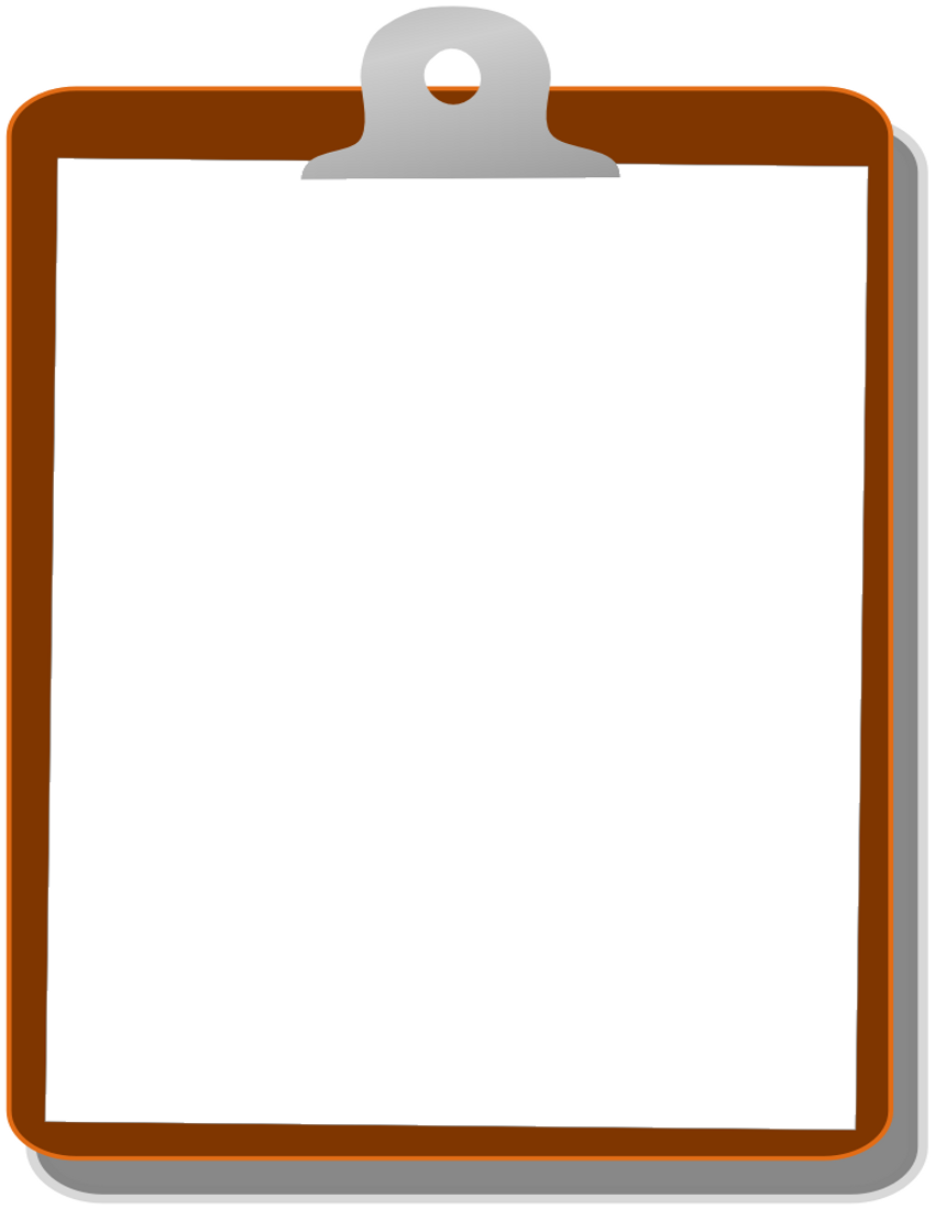 Clipboard Clipart Png Clipboard 01