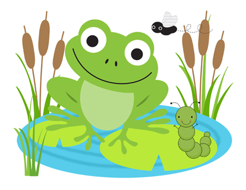 Baby Frog Clipart Clipart Suggest