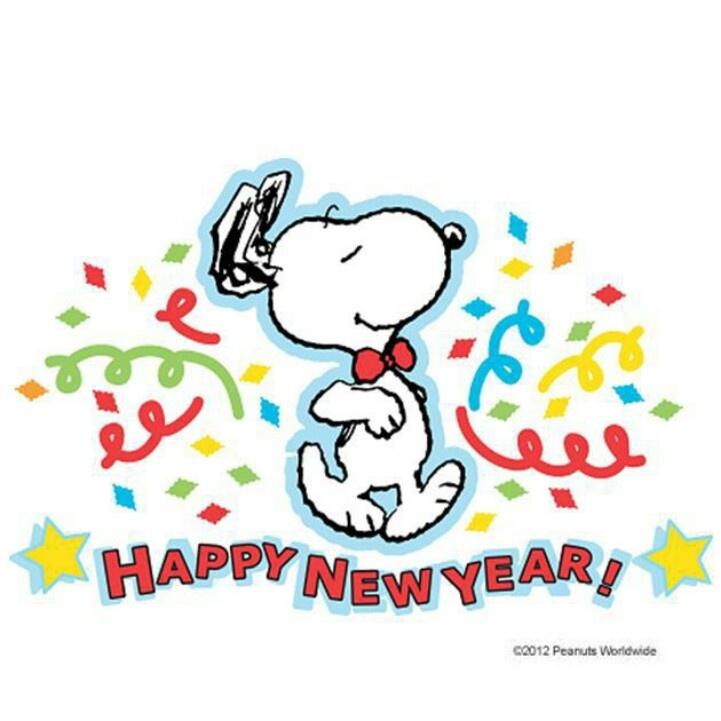 Happy New Year Snoopy   Snoopy   Friends   Pinterest