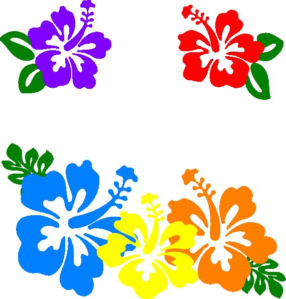 Hibiscus Clipart - Clipart Kid