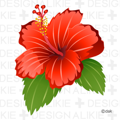 Hibiscus Flower Clipart Tweet It Is A Hibiscus Flower Clip Art Icon Id