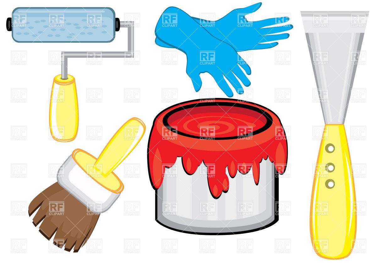 House Painter S Tools Paintbrush