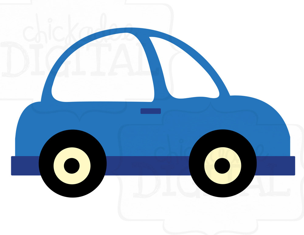Toy Car Clip Art : Blue toy car clipart suggest