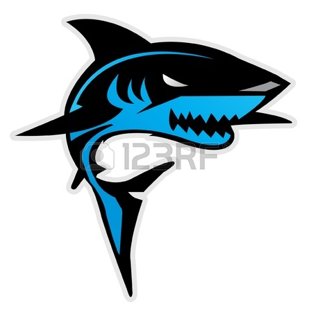 Mean Shark Clip Art   Clipart Panda   Free Clipart Images