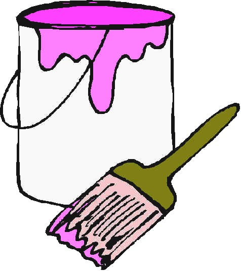 Clip Art Paint Can Clipart paint can and brush clipart kid free cliparts that you download to you