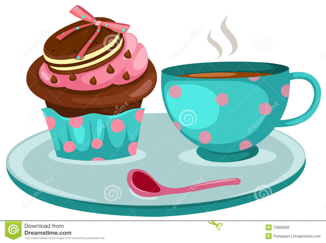 Coffee Cake Clipart - Clipart Suggest