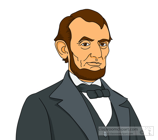 Presidents   President Abraham Lincoln Clipart   Classroom Clipart
