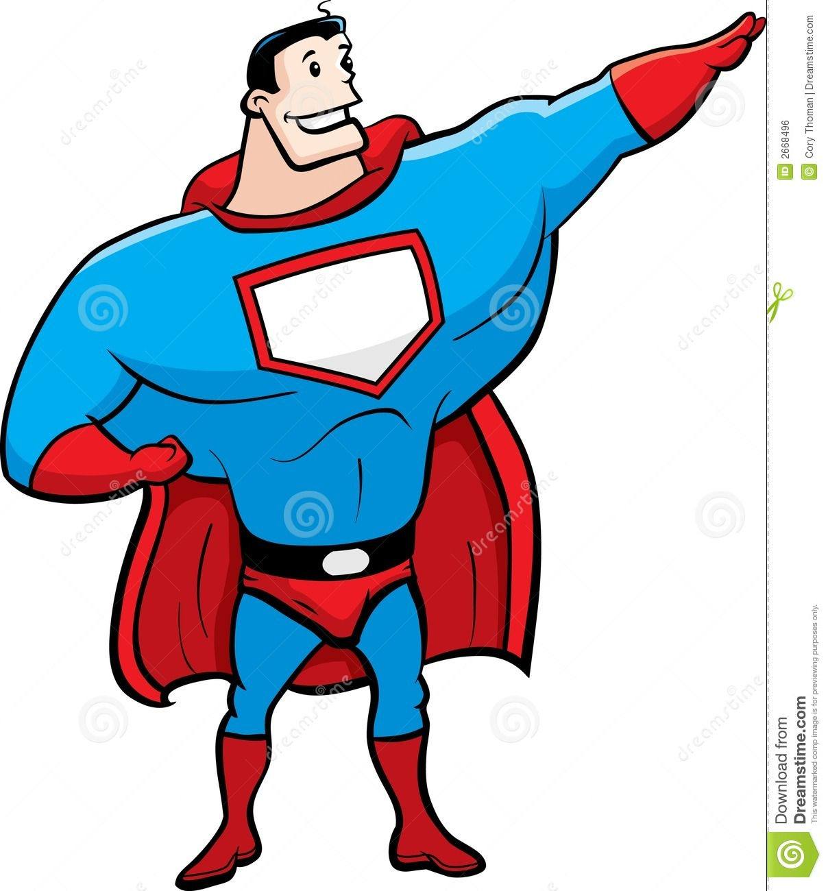 Superhero Clip Art Superhero Royalty Free Stock Image Image