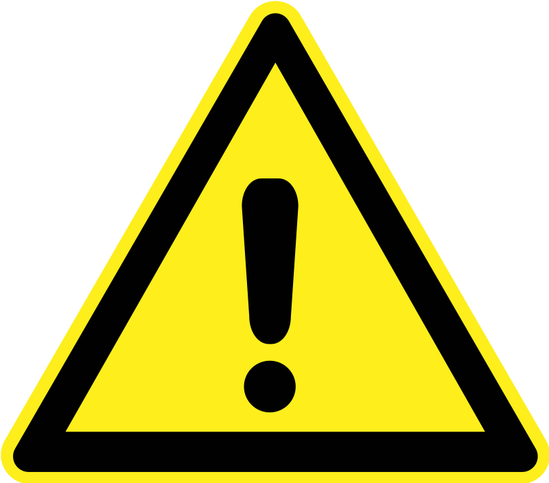 Warning   Generic By H0us3s   A Generic Triangular Yellow Warning