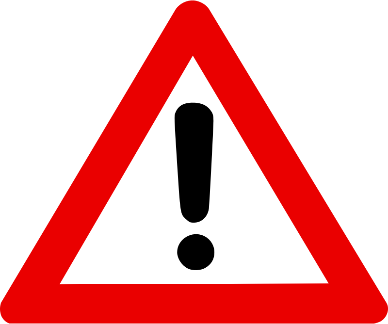 Warning Sign By Zeimusu   From Http   Commons Wikimedia Org Wiki Image