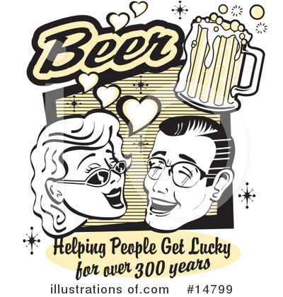 Beer Clipart  14799   Illustration By Andy Nortnik