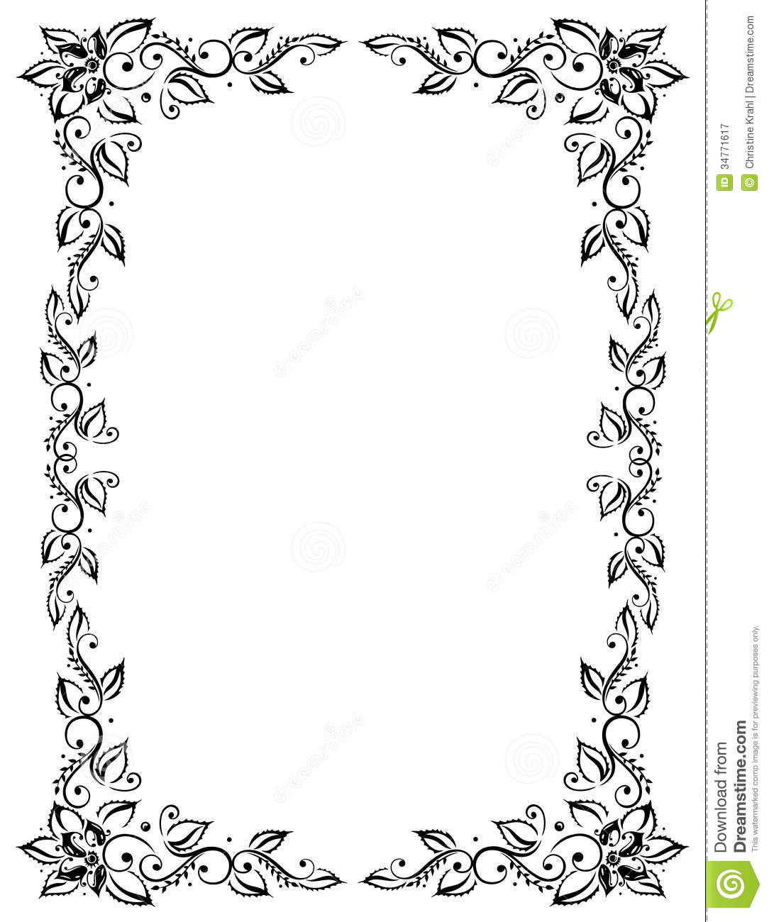 Filigree Square Border Clip Art Free Fundraw Pic 20 Pictures To Pin On