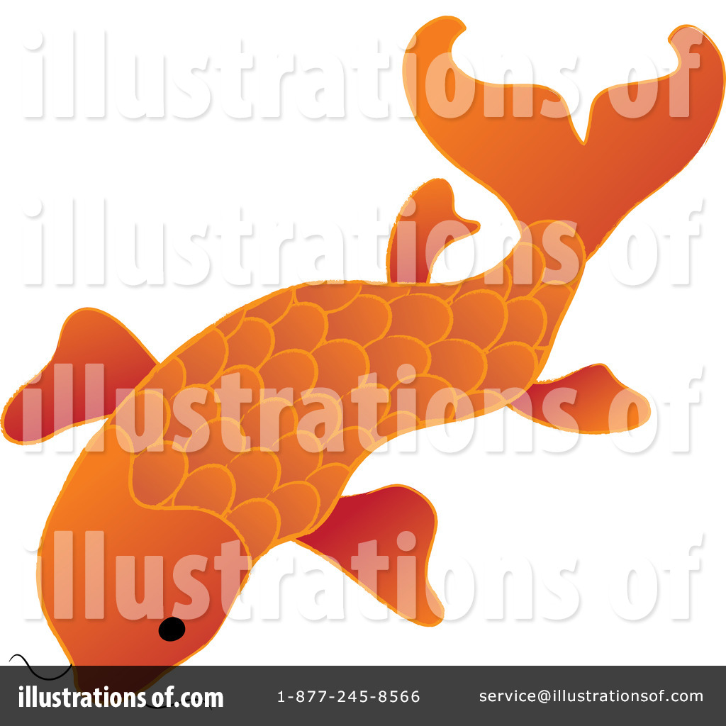 Free  Rf  Koi Fish Clipart Illustration  100581 By Pams Clipart