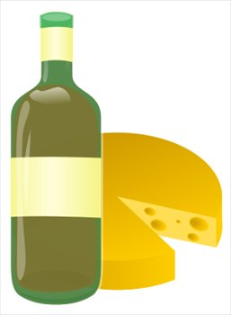Wine And Cheese Clipart - Clipart Kid