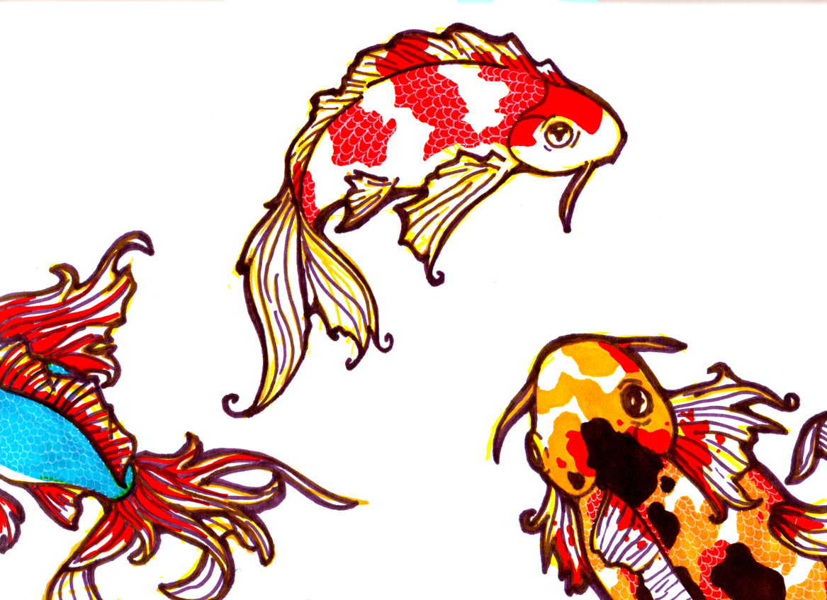 Koi Fish Cartoon Free Cliparts That You Can Download To You Computer