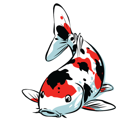 Clip Art Koi Fish Clipart koi fish clipart kid poem by spirit the artist on deviantart