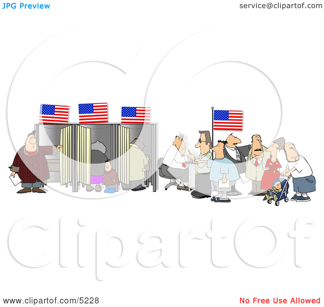 People Voting Clipart